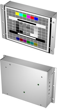 "6,4"" Monitor LCD6 Open-Frame"